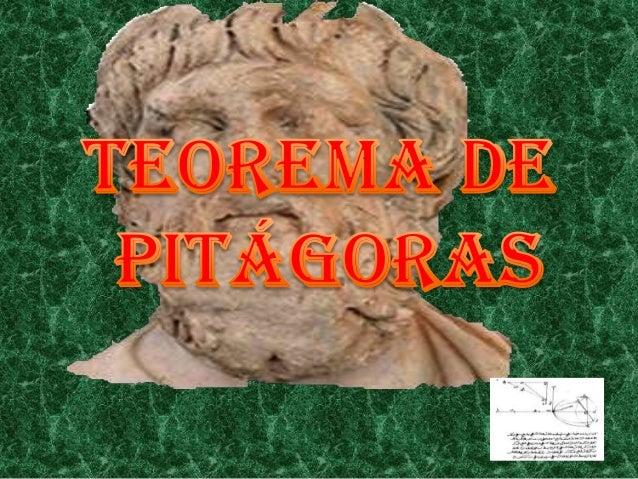 Pitágoras fue hijo de Mnesarco y que la primera parte de su vida lapasó en Samos, la isla que probablemente abandonó unos ...