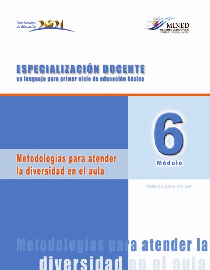 Especialización Docenteen lenguaje para primer ciclo de educación básica                                                  ...