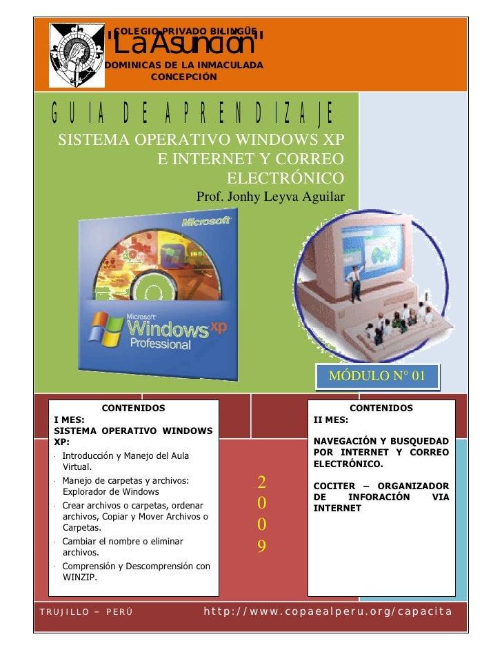 Modulo Aprendizaje N01 Segundo Sec