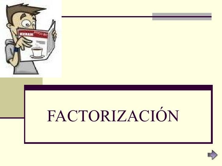 Modulofactorizacion2