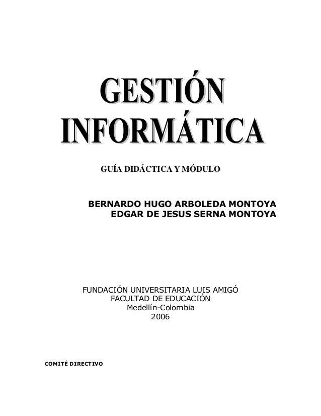 Modulo gestioninformatica