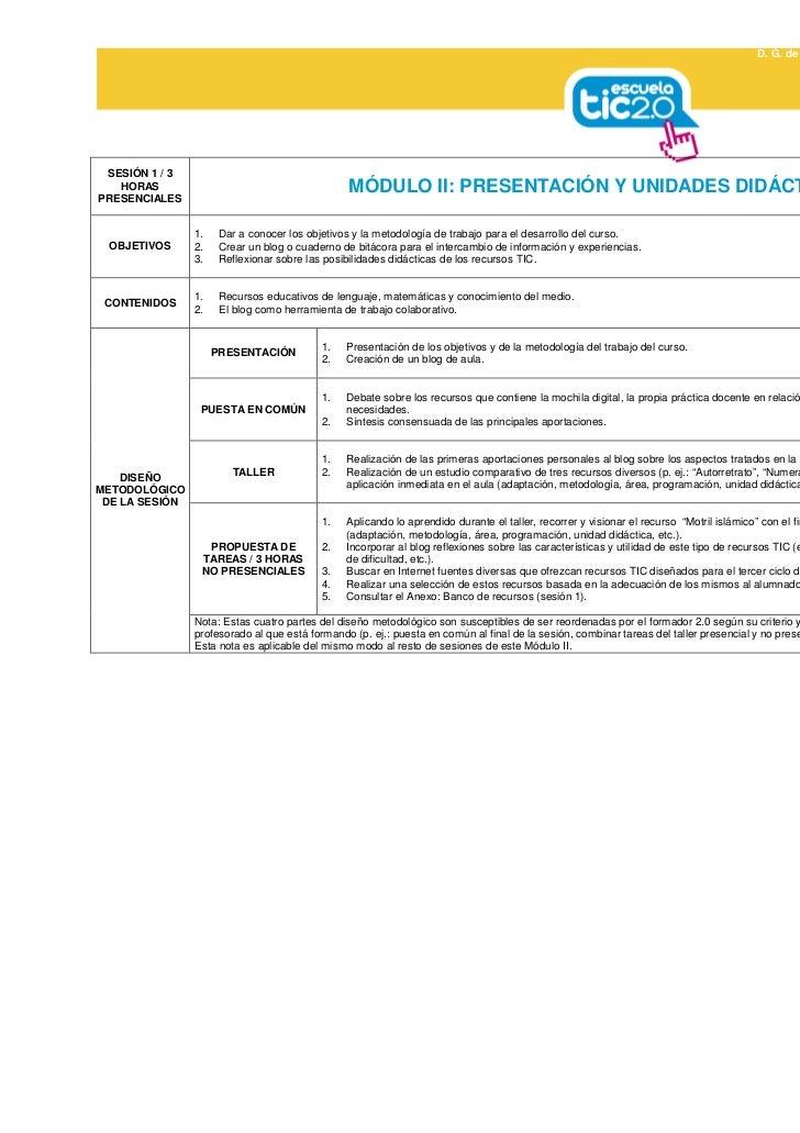 D. G. de Profesorado y Gestión de Recursos Humanos                                                                        ...