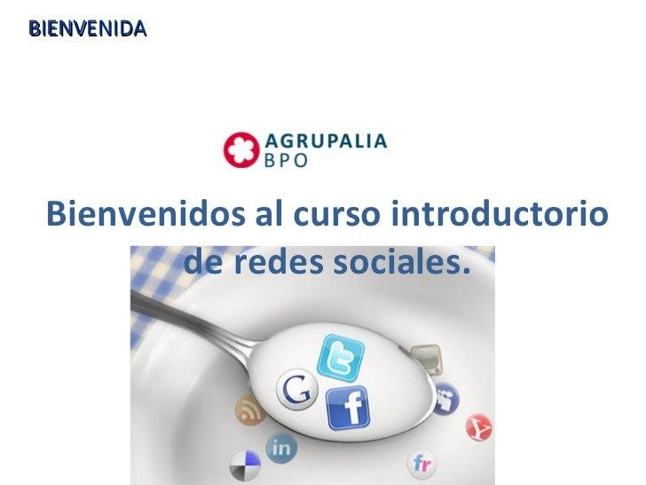 Modulo I Redes sociales