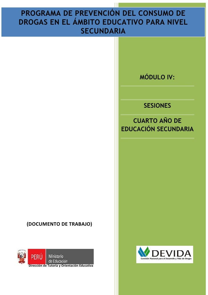 Modulo iv   4to secundaria