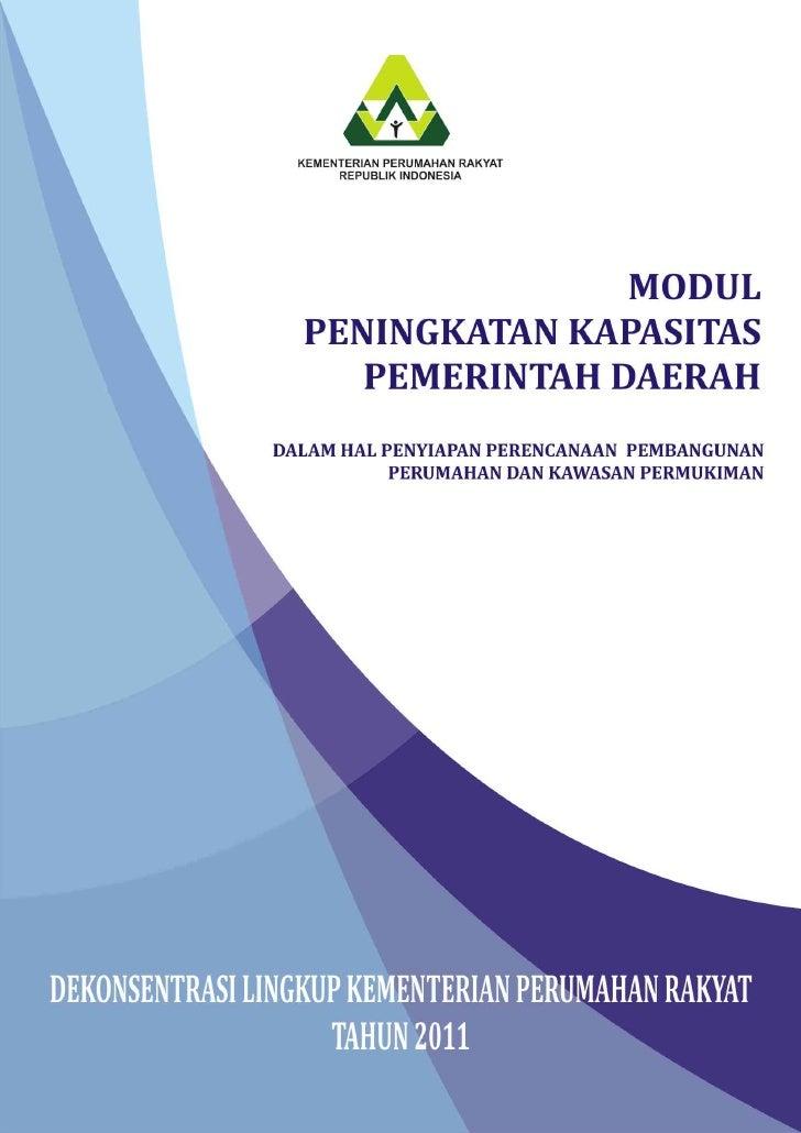 KEMENTERIAN PERUMAHAN RAKYAT                     REPUBLIK INDONESIA                       MODUL 1     PEMBENTUKAN KELOMPOK...