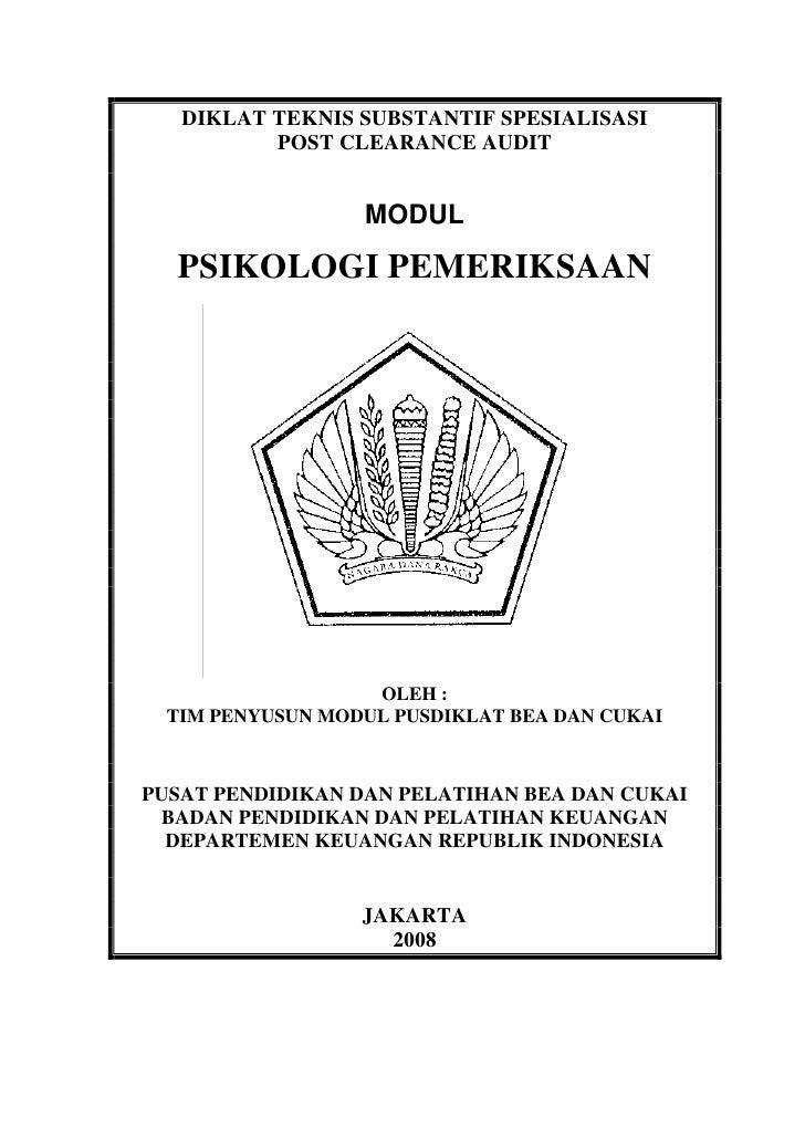 Modul pca psikologi_pemeriksaan