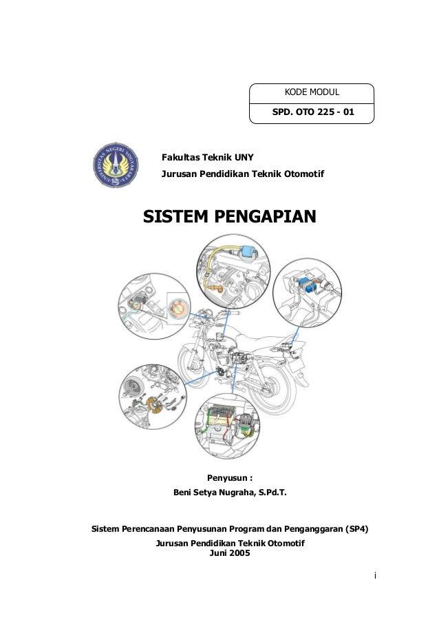 Modul teknologi sepeda motor (oto225 01)- sistem pengapian oleh beni setya nugraha, s.pd.t