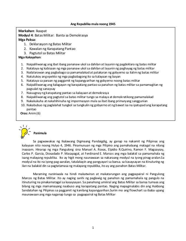 araling panlipunan grade 7 module download