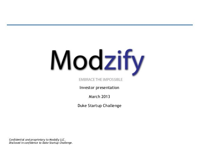 Investor presentation                                                          March 2013                                 ...