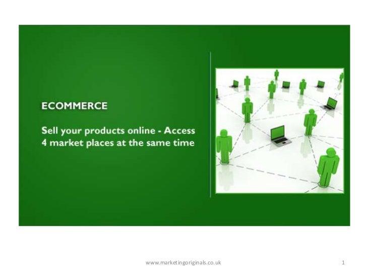 Marketing Originals - Ecommerce