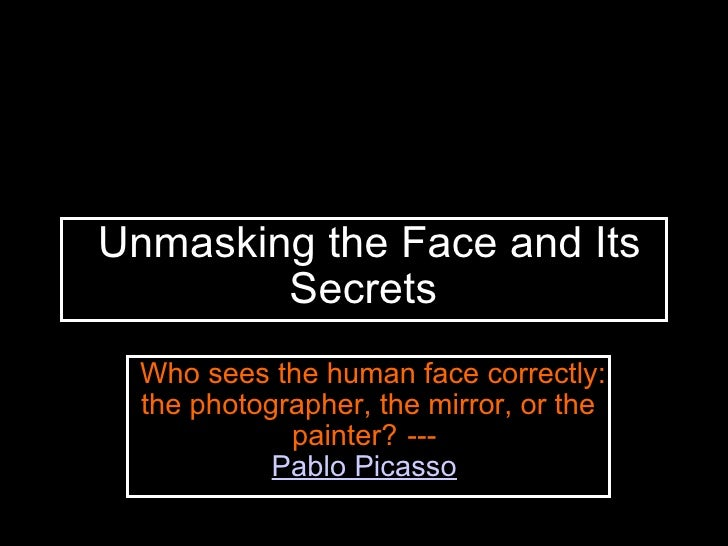 P. Moed Unmasking The Face