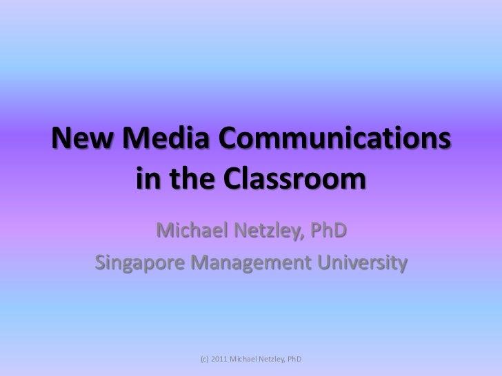 MoE Social Media Education talk