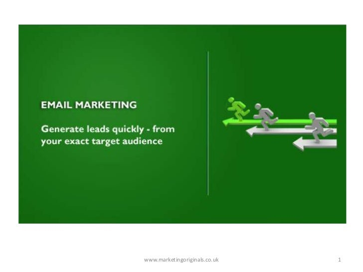 www.marketingoriginals.co.uk<br />1<br />