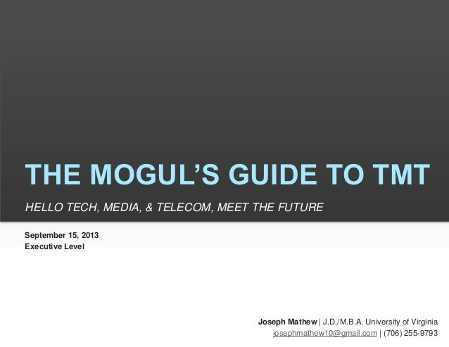 The Mogul's Guide To TMT