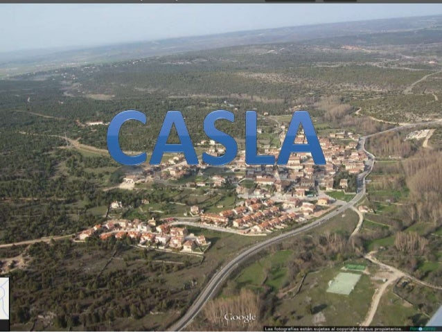 El pueblo que voy a analizar es Casla. En primer lugar , es un poblamiento concentrado. Las  viviendas se agrupan formando...