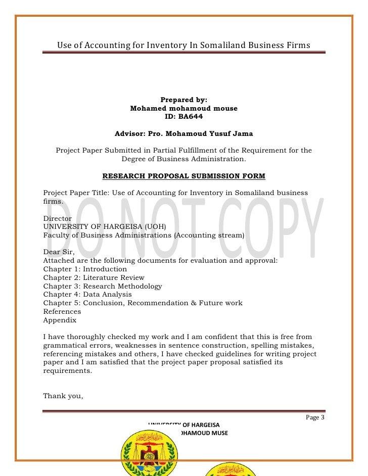 History-Paper-Vorschlag Beispiel