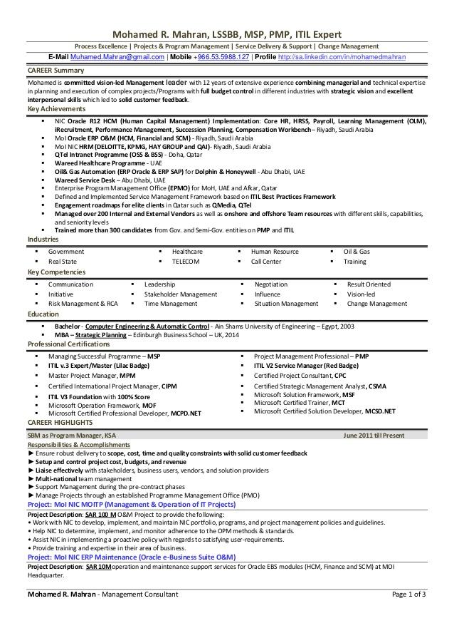 mohamed r mahran resume
