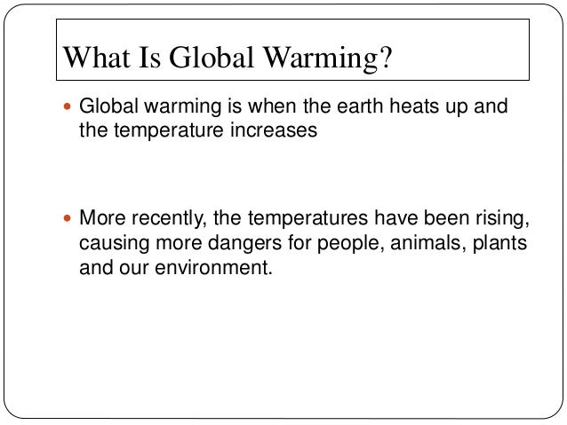 What are the three main imapcts of climate change on human beings.?