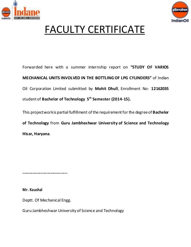 Certificate format for internship project choice image internship certificate sonundrobin internship certificate yadclub choice image yadclub Choice Image