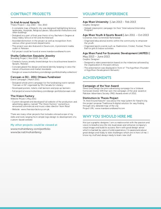 Sample Resume For Graphic Designer Zrom