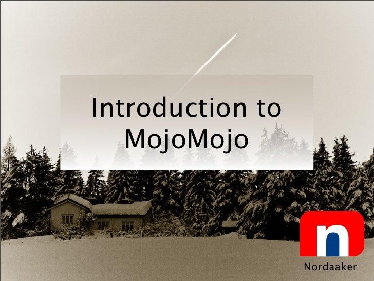 Mojomojo Talk