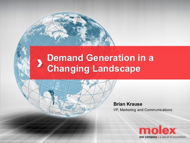 BMA Chicago - Demand Generation in a Changing Landscape