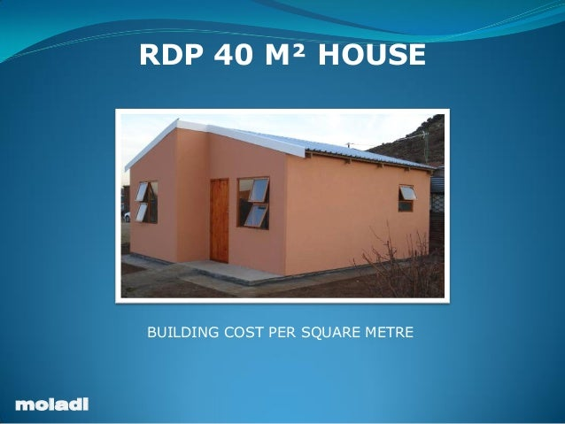 Moladi low cost housing for House building cost