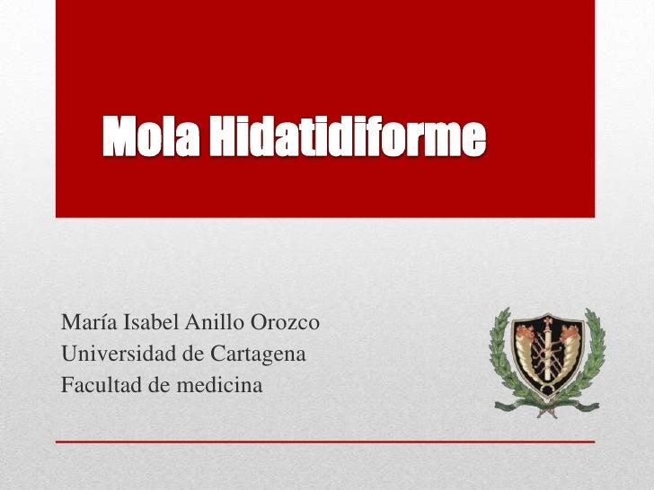María Isabel Anillo OrozcoUniversidad de CartagenaFacultad de medicina