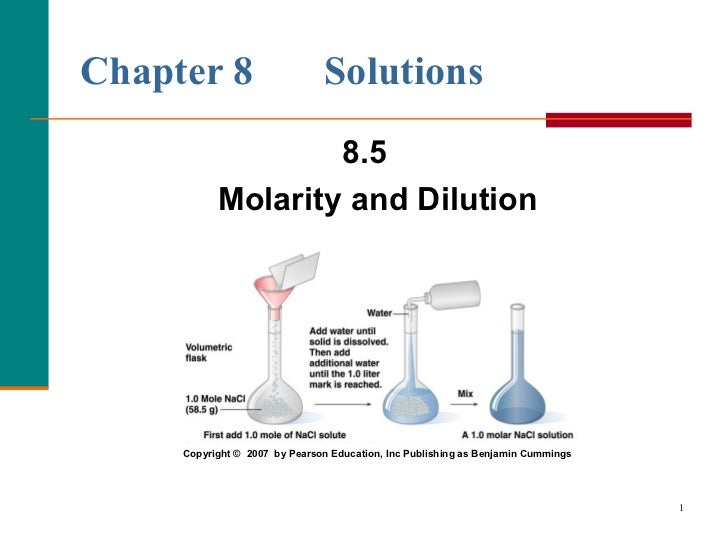 how to solve molarity problems in chemistry
