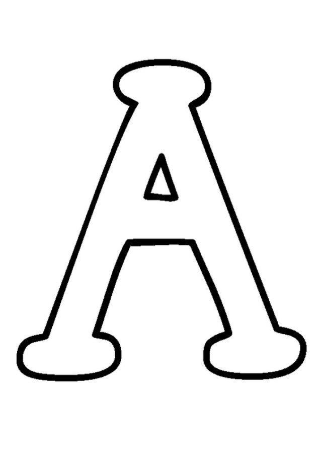 Molde letras e numerais tamanho oficio