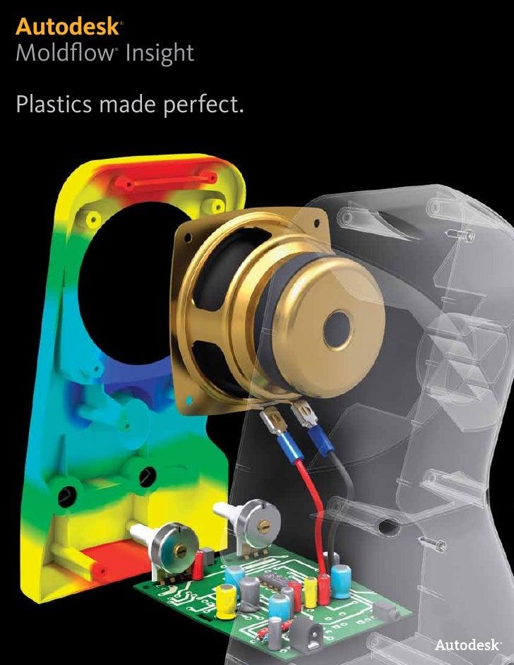 Autodesk     ®     Moldflow Insight          ®     Plastics made perfect.