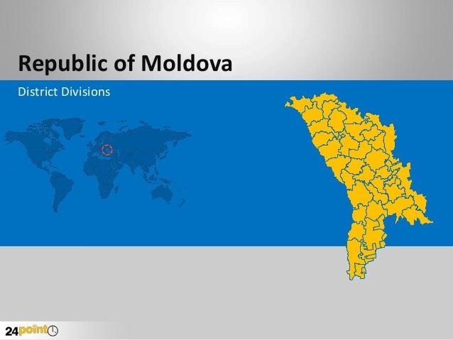 Republic of Moldova District Divisions