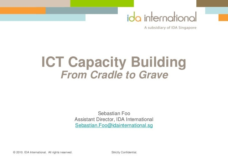 ICT Capacity Building, from Cradle to Grave