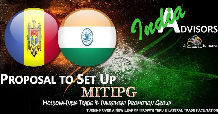 MOLDOVA-INDIA TRADE & INVESTMENT PROMOTION GROUP