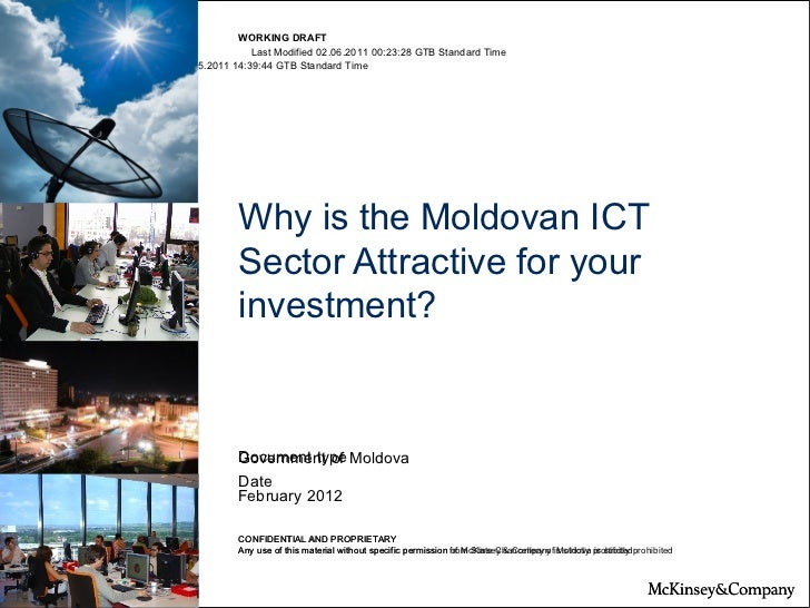 Why is the Moldovan ICT Sector Attractive for your investment?
