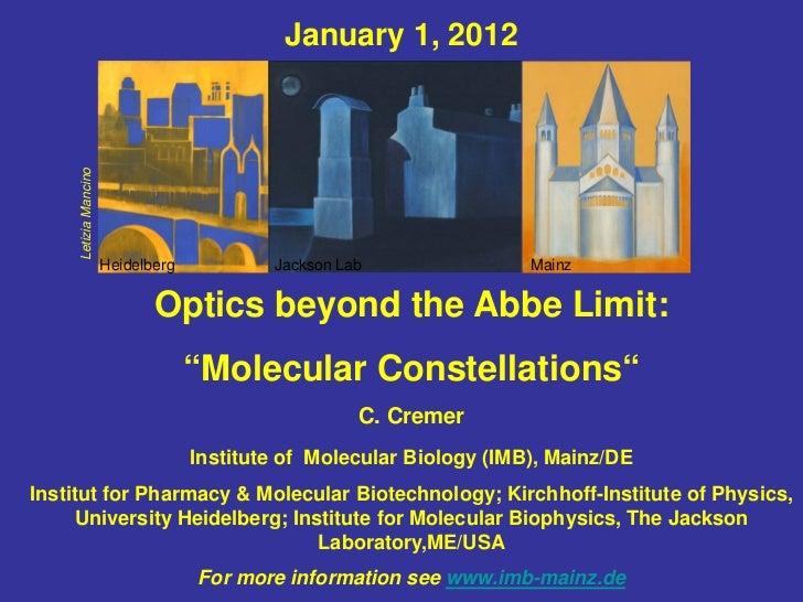Optics beyond the Abbe Limit