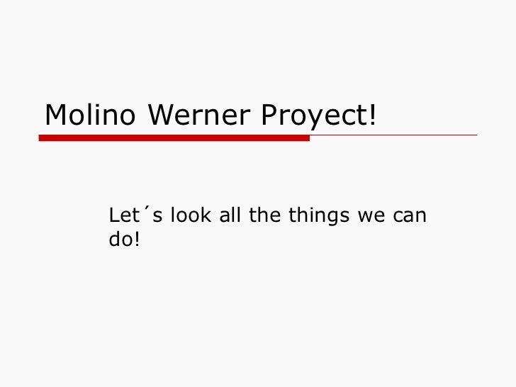 Molino werner