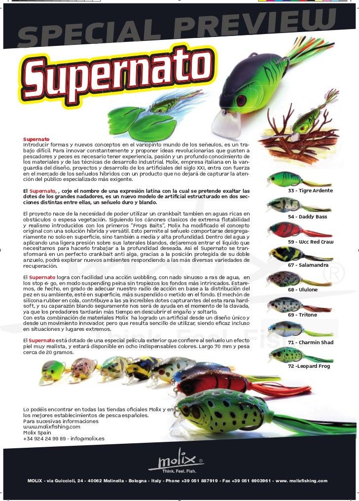 SPECIAL PREVIEWSupernatoIntroducir formas y nuevos conceptos en el variopinto mu                                nceptos   ...