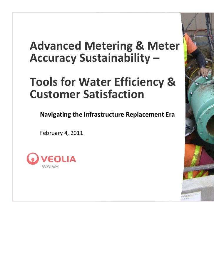 Advanced Metering & Meter Accuracy Sustainability