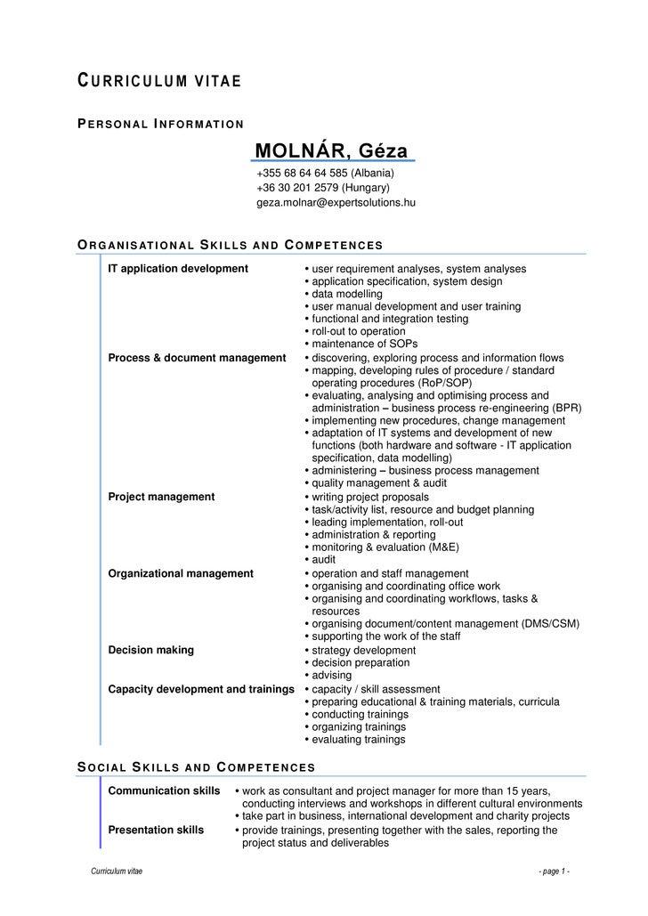 MOLNÁR Géza - CV -full-