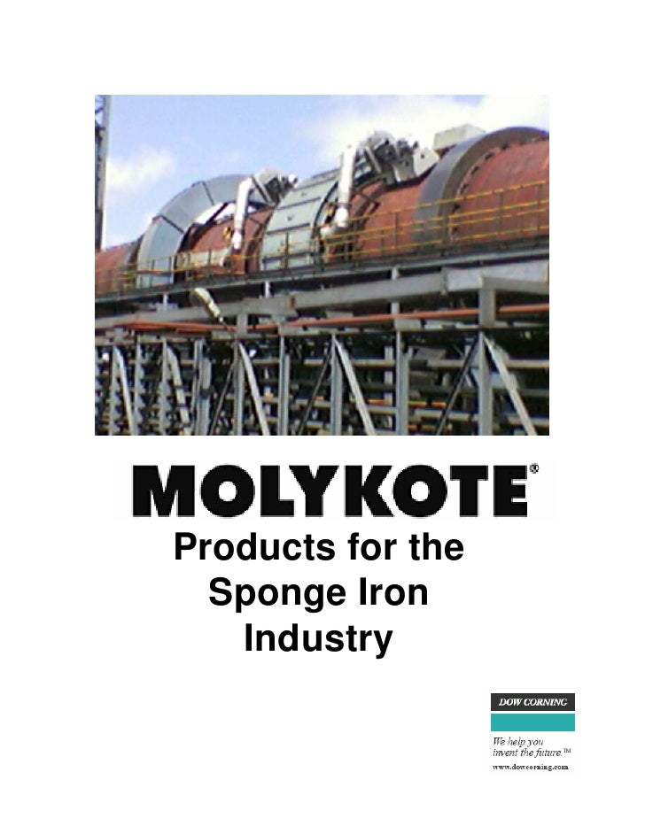 Products for the  Sponge Iron   Industry