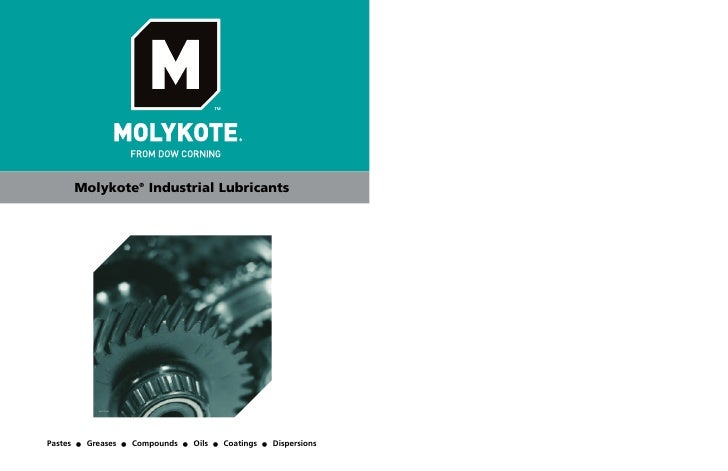 Molykote New Brochure from Project Sales Corp