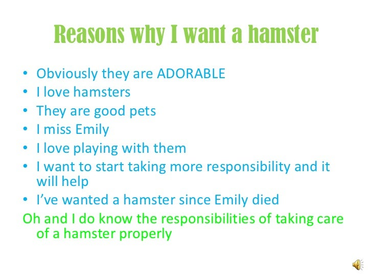 I want a hamster!!!!!!!!?