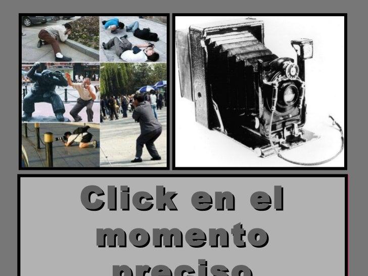 Click en el momento preciso