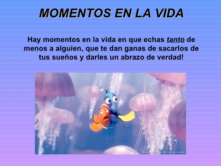 Momentos en la vida