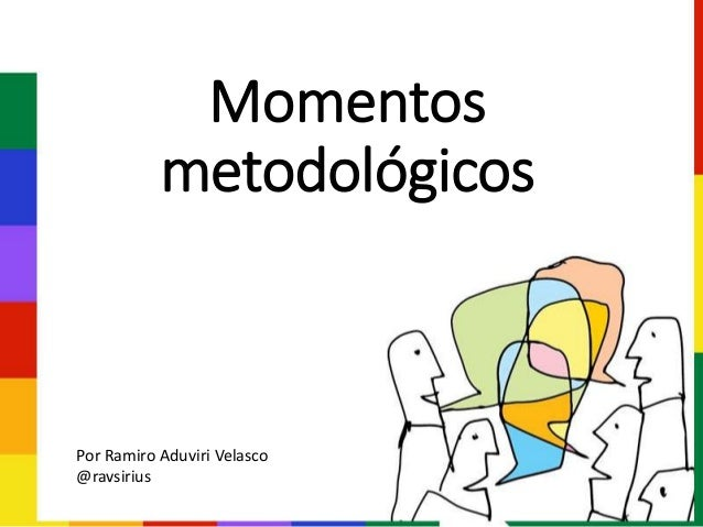 Momentos metodológicos Por Ramiro Aduviri Velasco @ravsirius