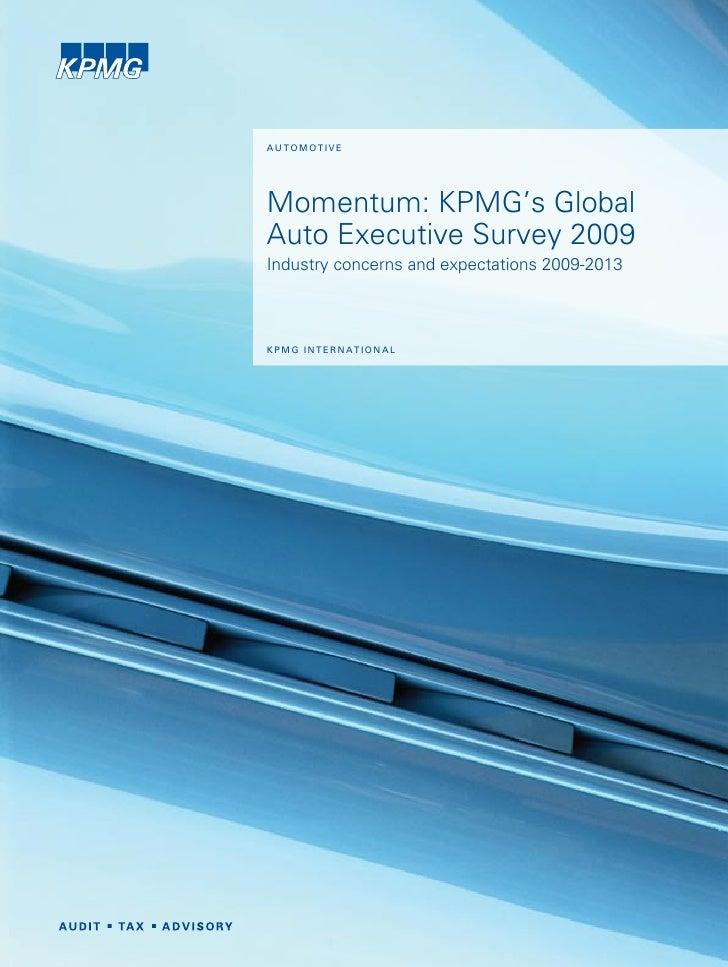 Momentum auto exec-2009