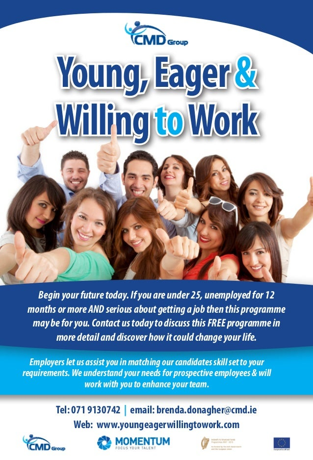 Momentum Course, Young, Eager & Willing To Learn!