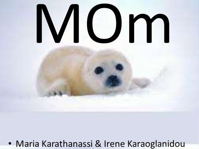 • Maria Karathanassi & Irene Karaoglanidou