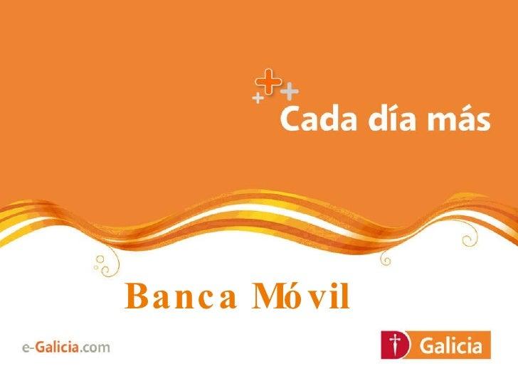 """MOMO Buenos Aires """"Nuevas aplicaciones para pagos móviles"""" - Banco Galicia"""